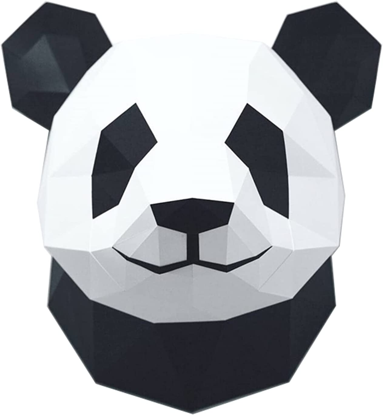 WLL-DP Panda New product!! Head Modeling Paper Creative 5 ☆ very popular Model Toy Geomet