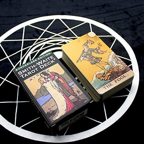78 Hojas Smith Waite Tarot Deck, Tarjetas de Juego de Cartas Tarot más innovadoras, para Juego de Mesa para Principiantes (Edición en inglés)