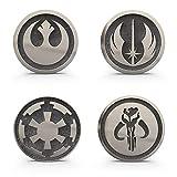 Karc Mandalorian Skull Badge Galactic Empire Rebel Alliance Jedi Order Symbol Badge Pin Accessories