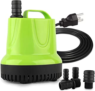 FREESEA 160-1100 GPH Submersible Water Pump for Pond, Aquarium, Hydroponics, Fish Tank Fountain