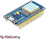 AZDelivery ESP32 NodeMCU Module Wi-FI, Carte de développement avec CP2102 d'énergie Ultra Basse...