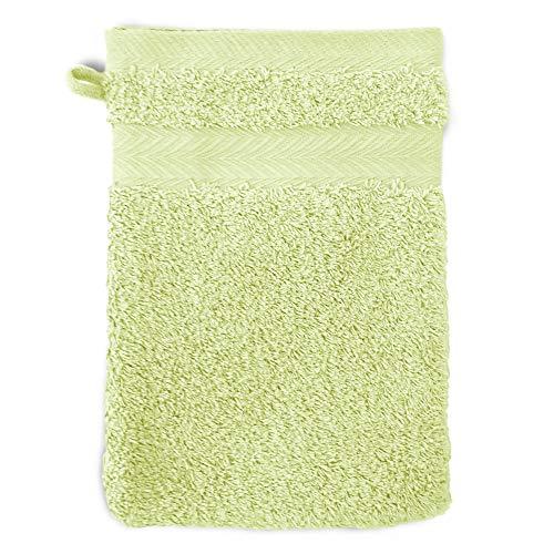 Linnea Gant de Toilette 16x21 cm Royal Cresent Vert Pastel 650 g/m2