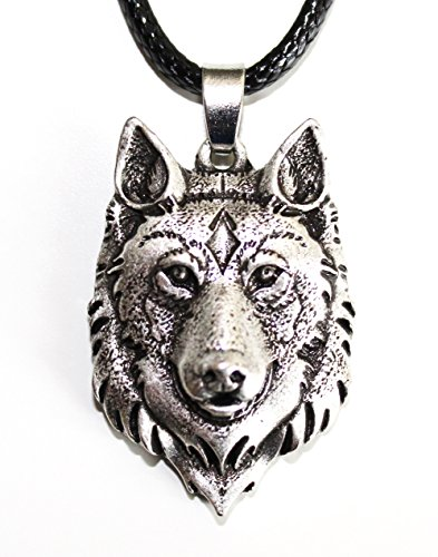 Collar cabeza de Lobo - Zorro - Colgante vikingo
