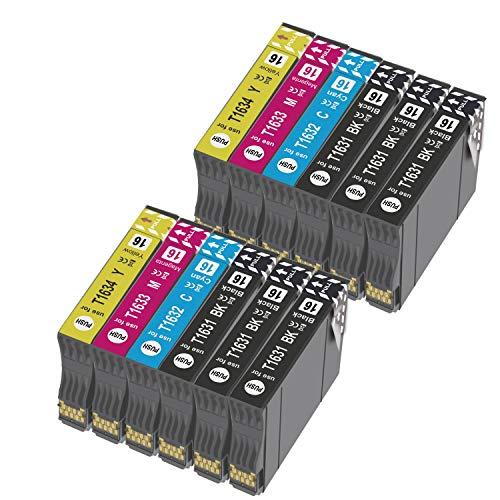 Teland - Cartuchos de tinta para impresoras Epson Workforce WF-2750 WF-2760 WF-2660 WF-2650 WF-2630 WF-2540 WF-2530 WF-2010 WF-2510 (6 negro, 2 cian, 2 magenta y 2 amarillas)