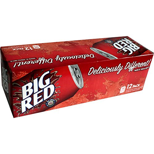 Big Red Soda 12 OZ (355ml) - 12 Cans