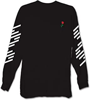Men's Long Sleeve Graphic and Embroidered Fashion T-Shirt