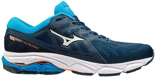 Mizuno Wave Ultima 11 Bleue Chaussures de FonctionneHommest Homme Homme  100% authentique