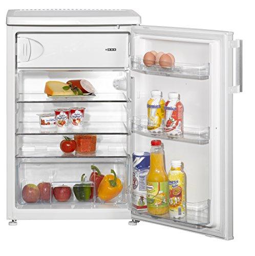 Amica KS15453W Kühlschrank mit Gefrierfach - Weiß, A+++
