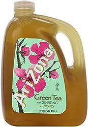 Arizona Green Tea with Ginseng and Honey, 128 Fl Oz