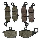 Cyleto Pastiglie dei freni anteriori e posteriori per Kawasaki KLE 650Versys 65020072008200920102011201220132014