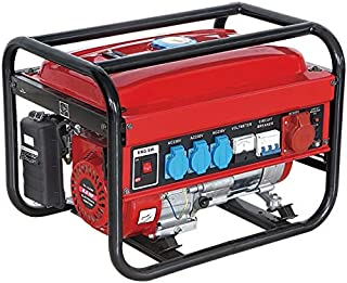 GENERADOR ELECTRICO GASOLINA GERMAN FORCE 15L 5500W (1000W+