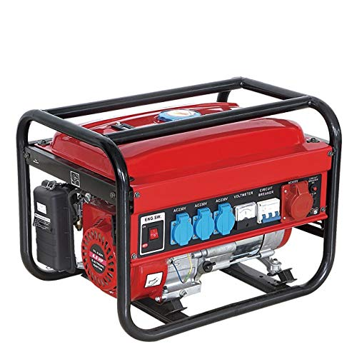 GENERADOR ELECTRICO GASOLINA GERMAN FORCE 15L 5500W (1000W+1000W +1000W+2500W)...