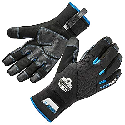 Waterproof Work Gloves, Thermal Insulated, Touchscreen, Enhanced Grip, Ergodyne ProFlex 818WP