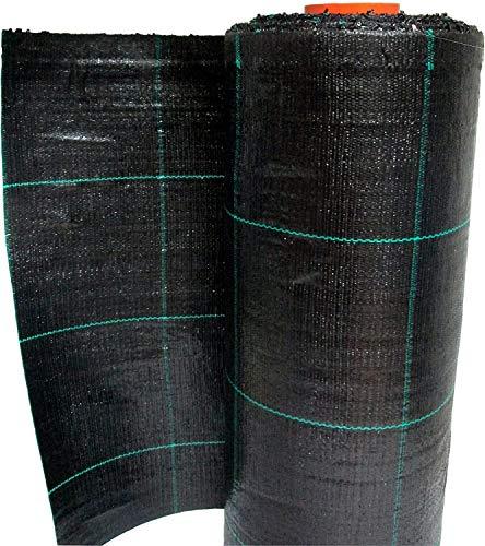 Bâches bâche de paillage Noir Vichy Tissu polypropylène indéchirable – MT 30 x 0,50 H