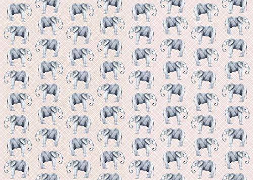 ARTEBENE Geschenkpapier Geschenkpapierbogen Geschenkpapierrolle Bogen Verpackung Finest Elefant