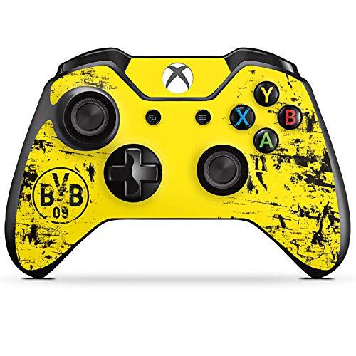 DeinDesign Skin kompatibel mit Microsoft Xbox One Controller Folie Sticker Borussia Dortmund Offizielles Lizenzprodukt BVB