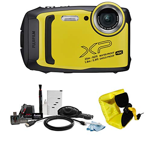 Fujifilm FinePix XP140 Digital Camera (Yellow)...