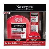 Neutrogena Cellular Boost Anti-edad, Pack Crema de Noche Regeneradora + Contorno de Ojos...
