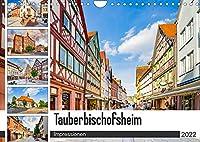 Tauberbischofsheim Impressionen (Wandkalender 2022 DIN A4 quer): Die Stadt Tauberbischofsheim dargestellt auf zwoelf einmaligen Bildern (Monatskalender, 14 Seiten )