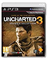 Uncharted 3 Drake's Deception: Game of the Year (PS3)