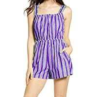 Women's Casual Spaghetti-Strap Summer Rompers (various sizes/colors)