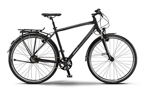 Winora Labrador Herren Trekkingrad Schwarz/grau/weiß (2015), 60cm