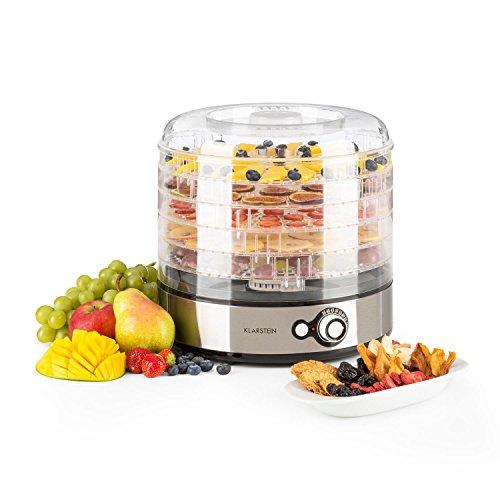 KLARSTEIN Fruitower M Deshidratador Automatico de Alimentos - Secador Vegetales,...