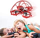 Mini Drone for Kids, Drone with Protective Cage Frame Nano RC Quadcopter Anti