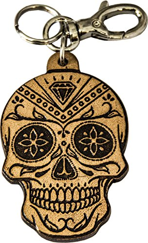 Schlüsselanhänger schädel - Art. Skull Diamond - Etabeta Artigiano Toscano - Made in Italy