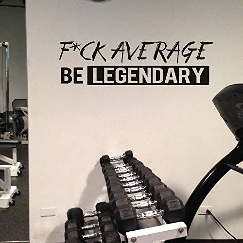 Fuk Average Be Legendary Quote Viny…