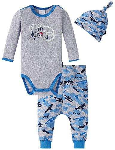 Schiesser Schiesser Baby-Jungen Unterwäsche-Set, Mehrfarbig (Sortiert 1 901), 74 (3er Pack)