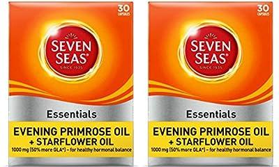 (2 Pack) - Seven Seas - Evening Primrose + Starflower | 30's | 2 PACK BUNDLE by Seven Seas