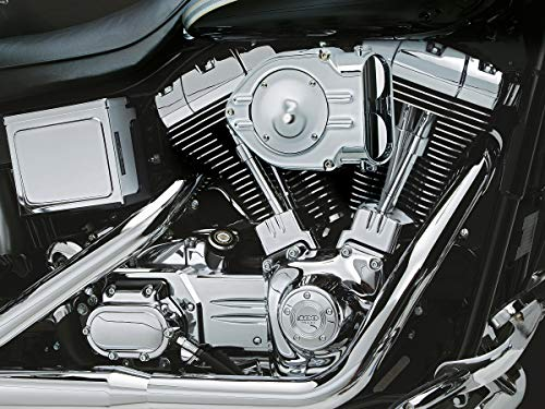 Kuryakyn Hypercharger Filtro aire cromo Harley Davidson Twin Cam CV 99-16