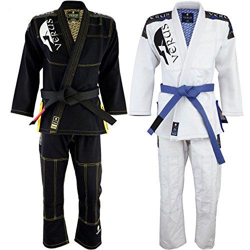"Verus Ultra Strong Version ""Maximus"" BJJ JIU Jitsu Competition GI IBJJF Approved (Black, A1)"