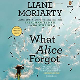 What Alice Forgot audiobook cover art