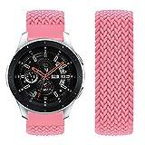 Vozehui Compatible con Samsung Galaxy Watch de 46 mm, correa de nailon suave elástico de 22 mm, correa de repuesto para Samsung Gear S3 Frontier/Gear S3 Classic/Galaxy Watch 22 mm, mujeres y hombres