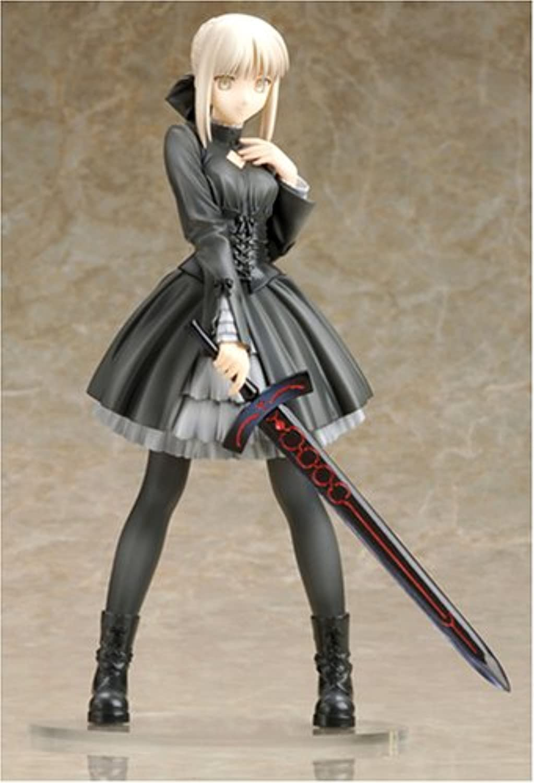 Fate Hollow Ataraxia   Saber (Black Dress Ver.) [1 8 Scale PVC]