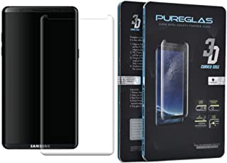 Glass Screen Protector 3D Curved Edge By Pureglas For Samsung Note 8, Clear