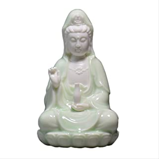 GIAO Ceramics South China Sea Guanyin Bodhisattva Interior Decorations Car Perfume Parlor Home Enshrines Safeguard Buddha ...