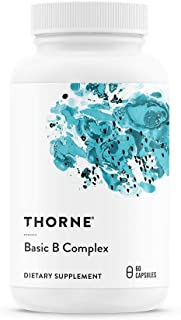 Thorne Research - Basic B Complex - B Vitamins in Their Active Forms - 60 Capsules