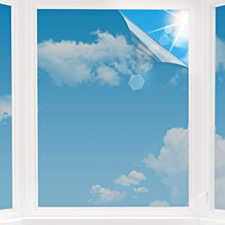 d.Stil - Lámina autoadhesiva para Ventanas, protección Solar, protección Visual, estática, lámina Opaca, poliéster, Plata, 60x200cm