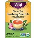 Yogi Tea - Green Tea Blueberry Slim Life (6 Pack) - Energizes and Supports a Dieting Program - 96...