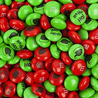 Christmas Candy M&Ms 2lb Mix Red and Green Holiday Milk Chocolate Candies