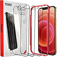 3-Pack TOZO iPhone 12 Pro Max Screen Protector