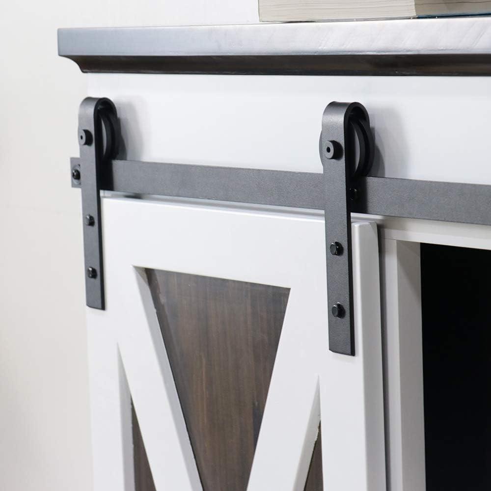 Kinmade J Shape Mini Cabinet Sliding Barn Inexpensive Hardware Sing Door 2021 Kit