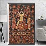 Unbekannt Poster und Drucke Wohnkultur Wandkunst Buddhismus