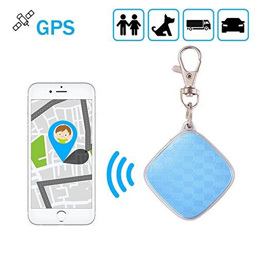 FAY gsm Rastreador GPS y Monitor de Actividad, Trayectoria Histórica en Tiempo Real, Alarma de Cercado, Monitoreo de Voz para Niños/Mascotas- Soporte para Android/iOS App Y PC