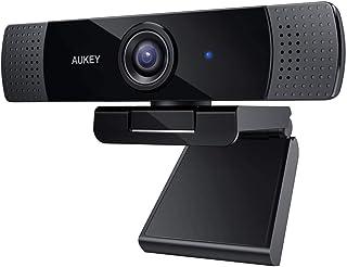 webカメラデュアルマイク内蔵AUKEY1080pウェブカメラテレワーク在宅勤務にskypezoomビデオ通話web会議用WindowsXP/MacOS10.6/Android5.0以上対応PC-LM1E