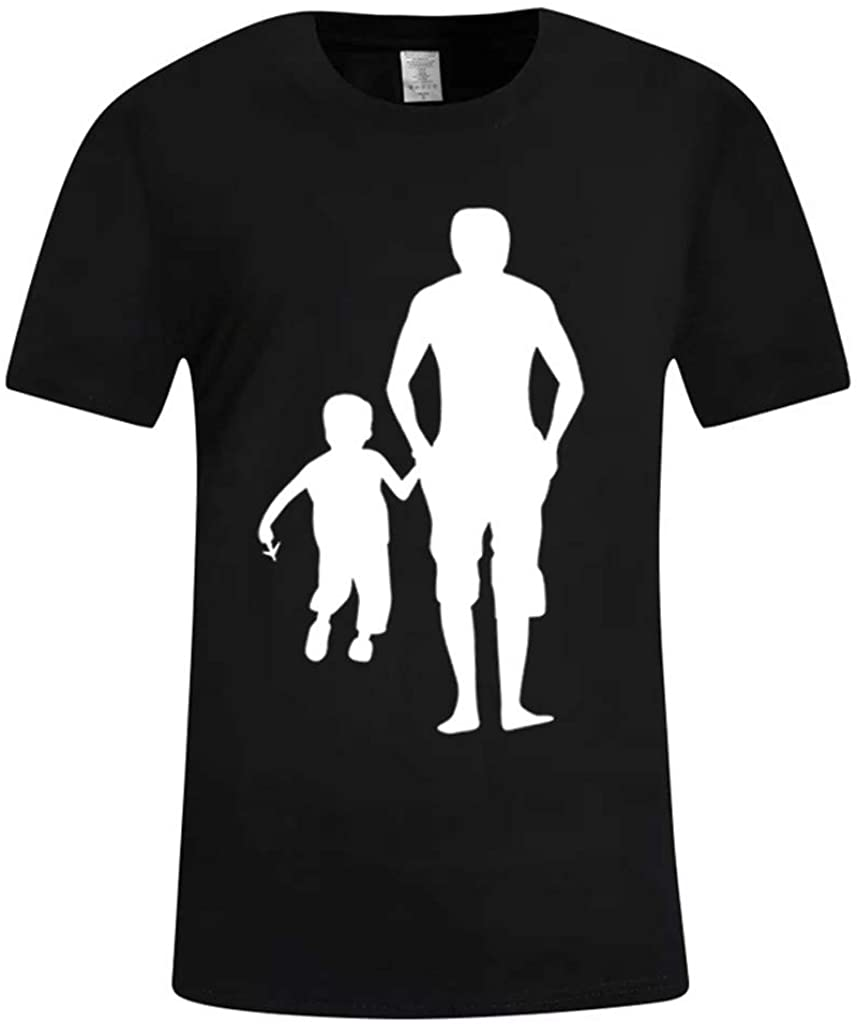 DIOMOR Casual Simple Original Graphic T Shirts for Men Day Papa Father's Day Soft Tees Pajamas Tops Pullover Funny Gift
