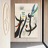 KWzEQ Peintres célèbres Art Mural Abstrait Toile Art Affiches et Impressions Peinture décorative sur Toile,Peinture sans Cadre,50x75cm